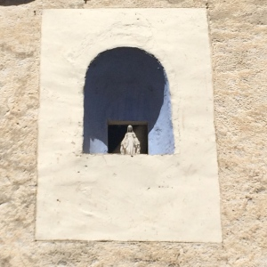 Another statue of Mary high in an alcove