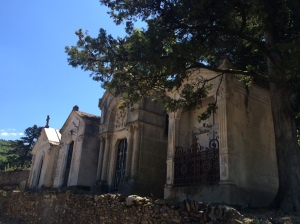 Family vaults and crypts
